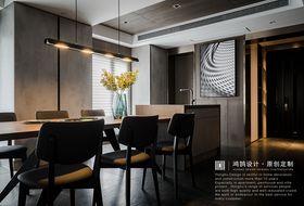 140平米別墅現代簡約風格餐廳效果圖