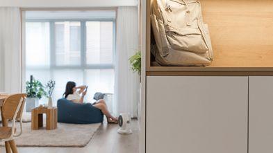 90平米三室两厅日式风格玄关效果图