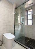 130平米三室三厅美式风格卫生间设计图