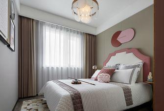 110平米三室一厅混搭风格卧室装修案例