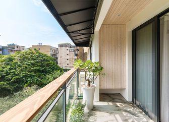 110平米三室两厅日式风格阳台欣赏图
