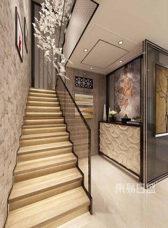 140平米复式欧式风格楼梯间装修图片大全