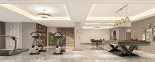 140平米别墅欧式风格健身室效果图