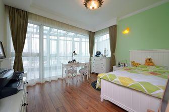 140平米复式美式风格卧室装修案例
