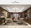 140平米四室三厅新古典风格客厅欣赏图