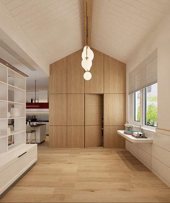 140平米别墅北欧风格阳光房装修案例