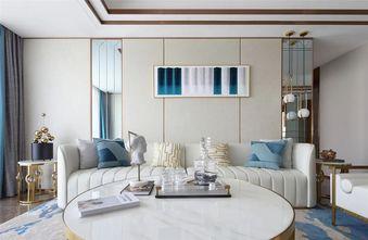 90平米三室一厅地中海风格客厅装修效果图