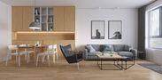 70平米公寓宜家风格餐厅装修效果图