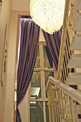 富裕型140平米三室一厅新古典风格楼梯效果图