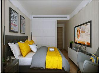 130平米一室一厅北欧风格卧室效果图