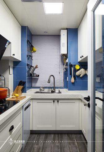 140平米三室两厅混搭风格厨房图片大全