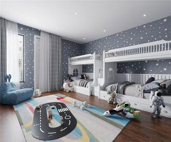 140平米复式现代简约风格儿童房图片大全