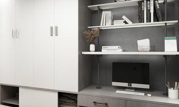 120平米三室两厅地中海风格书房图片