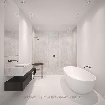90平米一居室现代简约风格卫生间装修案例
