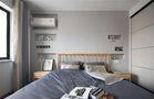 70平米三室一厅宜家风格卧室图片大全