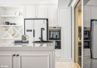 100平米三室两厅美式风格厨房图片大全