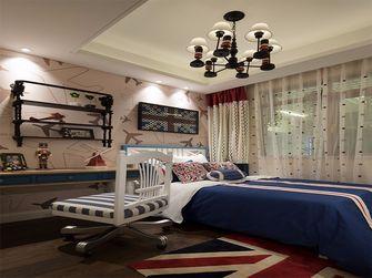 140平米四室两厅英伦风格儿童房欣赏图