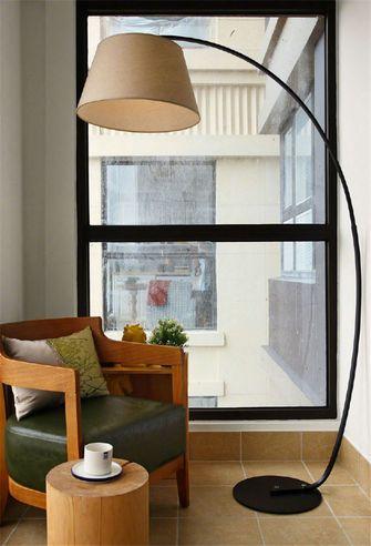 130平米三中式风格书房设计图