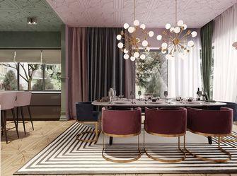 120平米三室一厅北欧风格餐厅设计图