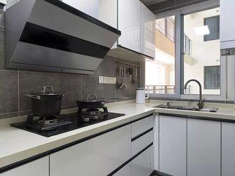 90平米三室两厅北欧风格厨房效果图