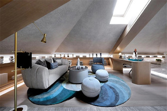 140平米四中式风格阳光房装修案例