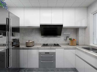 110平米三室两厅现代简约风格厨房图