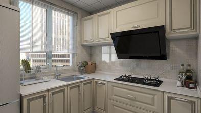 80平米三新古典风格厨房图片