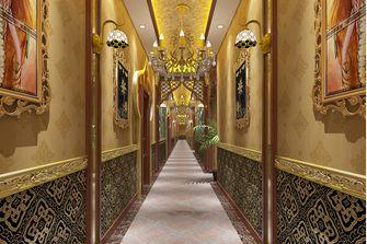 20万以上140平米东南亚风格走廊欣赏图