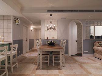 120平米三室一厅地中海风格餐厅装修效果图