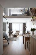 30平米以下超小户型欧式风格客厅欣赏图