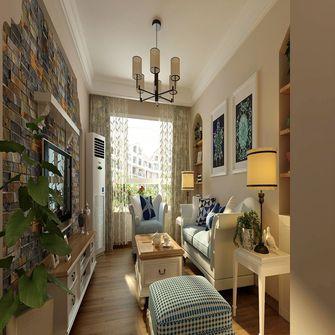 120平米三地中海风格客厅设计图