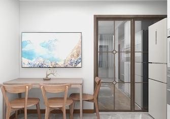 30平米超小户型现代简约风格餐厅欣赏图