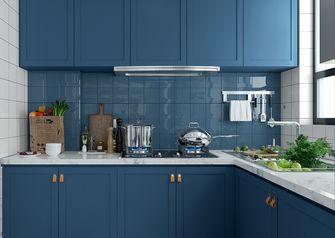 110平米三室一厅混搭风格厨房效果图