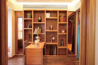 130平米三室两厅东南亚风格书房设计图