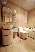 80平米公寓地中海风格卫生间欣赏图