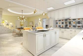130平米公寓美式风格厨房装修效果图