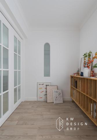 90平米三室两厅混搭风格书房图片大全