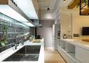 富裕型80平米混搭风格厨房橱柜图