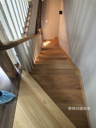 130平米三室两厅北欧风格楼梯间效果图