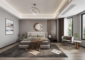 110平米三室两厅现代简约风格卧室装修效果图