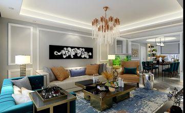 140平米三混搭风格客厅装修效果图