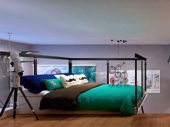 60平米复式混搭风格卧室装修案例