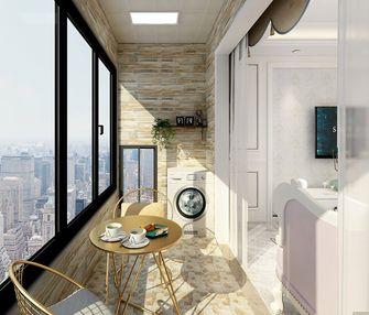 120平米三室一厅欧式风格阳台图片