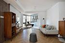 80平米混搭风格客厅设计图