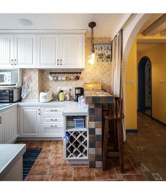 130平米三室两厅地中海风格厨房欣赏图