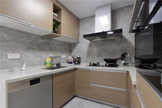 140平米别墅日式风格厨房图片
