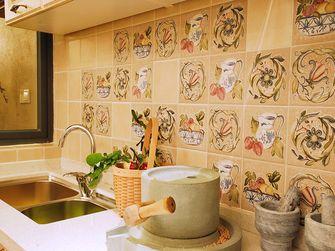 110平米三室一厅地中海风格厨房设计图