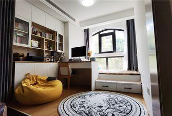 80平米公寓日式风格书房设计图