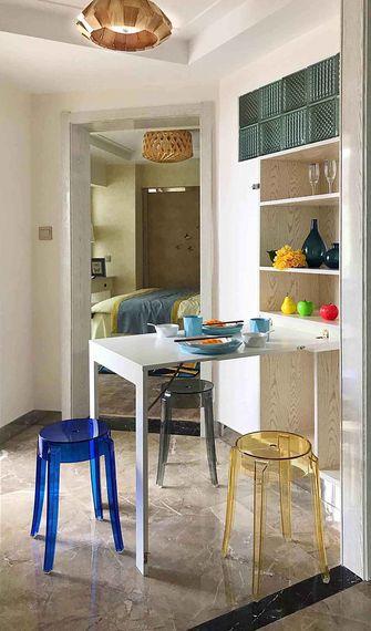 110平米三室两厅东南亚风格餐厅图
