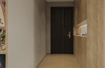 120平米四室两厅混搭风格玄关图
